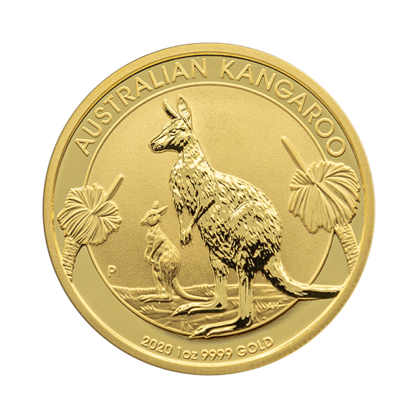 1 OZ. Känguru Nugget Gold Münze Perth Mint