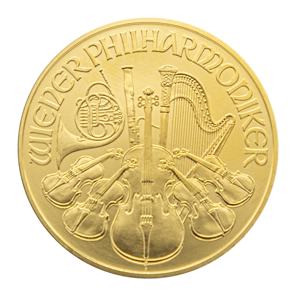 1 OZ. Wiener Philharmoniker Gold Münze