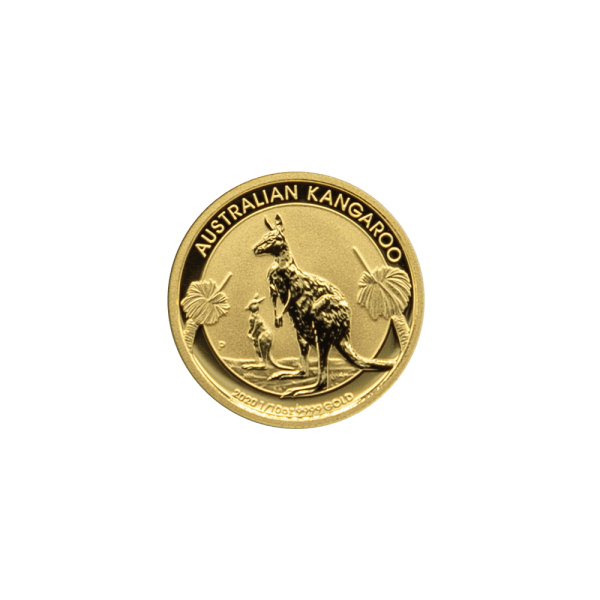 1/10 OZ. Känguru Nugget Gold Münze Perth Mint